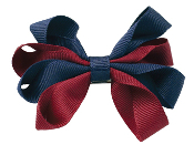 Small Carnival Bow Pony Tail Holder