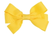 Small Grosgrain Bow with French Clip