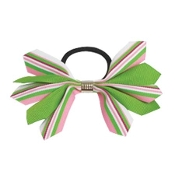 Short Spiked Ribbon Bow